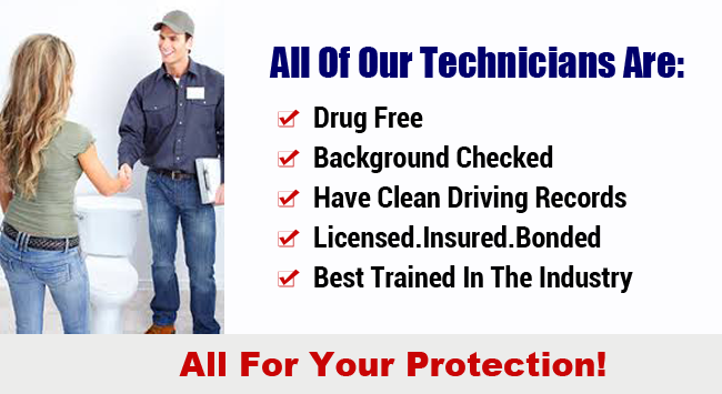 Background Checked Plumbers Orange County