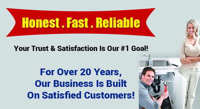Honest Fast Reliable Orange County Plumbers