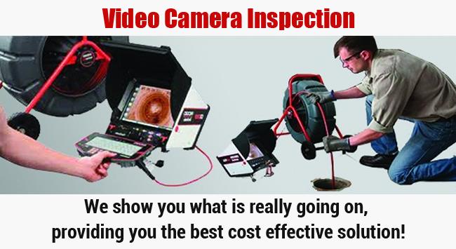Video Camera Inspection Orange County Plumbing Service